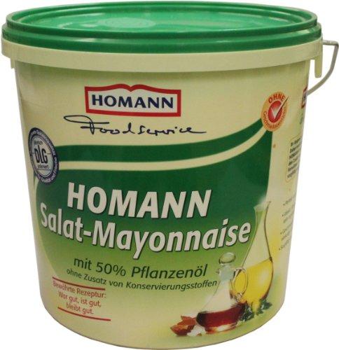 Homann Salat-Mayonnaise 50{804465304678b3f865e9e853ec9ff541c1d2729e51407d8e8bfde6ceccb2ce66} 10kg