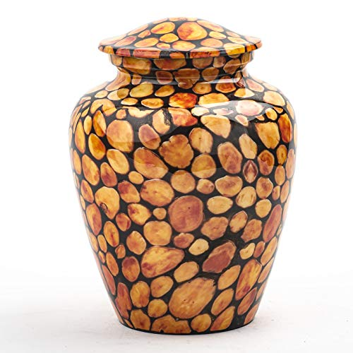 INTAJ Mosaic Cremation Urn for Ashes