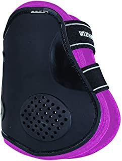 WEATHERBEETA PRO AIR Fetlock Boots Black/Pink Warmblood Horse Rug