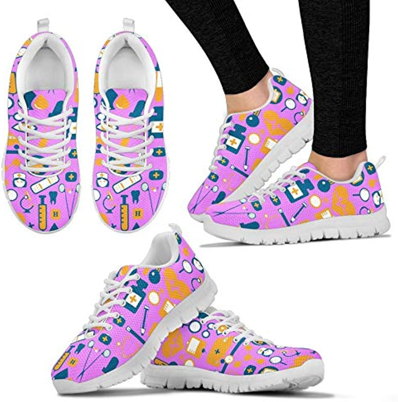 HUGS IDEA Stylish Women's Sneakers Lightweight Comfort Athletic Train Running Jogging Tennis Sport shoes
