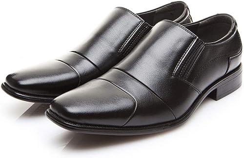 Zapaños de Vestir para Hombre Zapaños de Negocios de Boda Formales, cómodos y sin Cordones, cómodos para Hombre