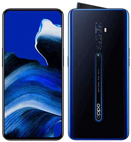 OPPO Reno2 Reno 2 8GB+128GB Qualcomm SDM730G 48MP Dual SIM VOOC 3.0 Smartphone Negro Brillante
