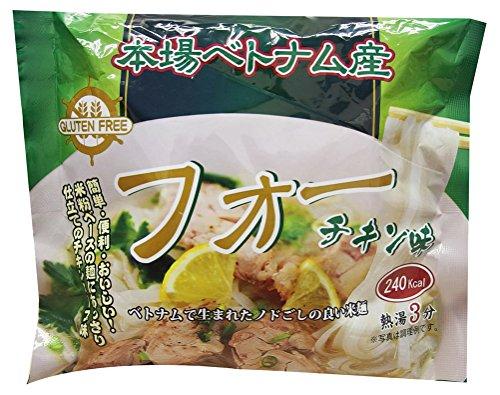 インターフレッシュ フォー(米粉麺)チキン味袋麺 60g×10袋