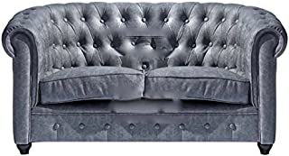 Amazon.es: sofa chester vintage