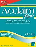Acclaim Acid Extra Body Plus Hair Perm Kit - Extra Body Green Kit by Zotos
