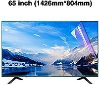DPPAN 65インチ反射防止 液晶保護フィルムテレビモニター用、スーパークリア LED 保護フィルム アンチブルーライト、LCD アンチスクラッチ スクリーンセーバー、目を守る,A