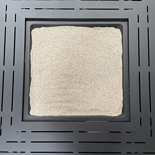 KAYSO INC Silica Sand for Fire Pits, Fire Places, Gas Fire, Base Layer Decoration - 10lb Heat and Fire Proof