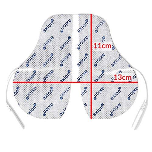 1 x Nacken – Elektrode / Pad, 150x95mm gross, für TENS EMS Reizstromgerät mit 2mm-Stecker-Anschluss - 5