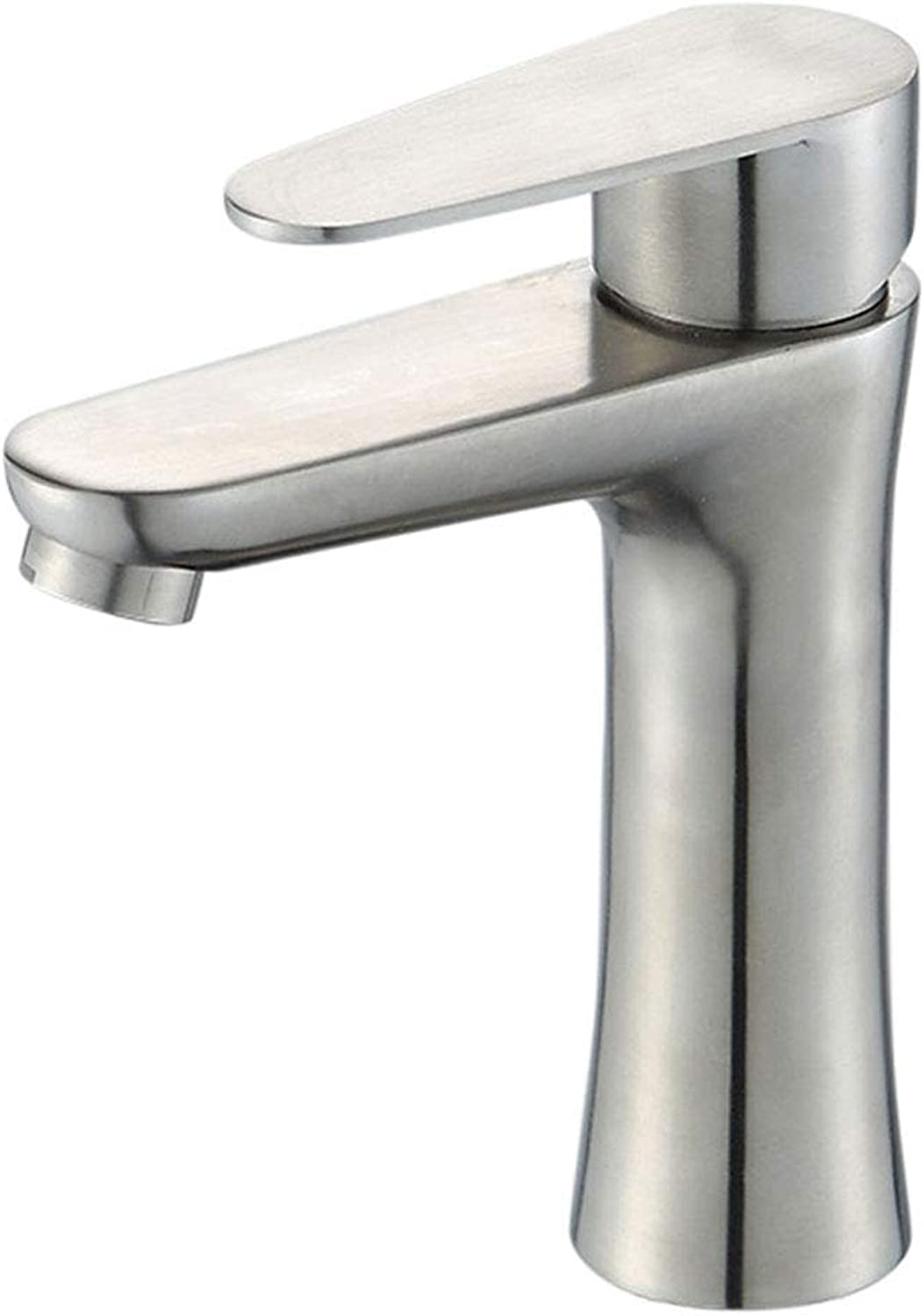 Yxx max Bathroom Faucet Washbasin Faucet Hot And Cold Single Hole 304 Upper Basin Faucet