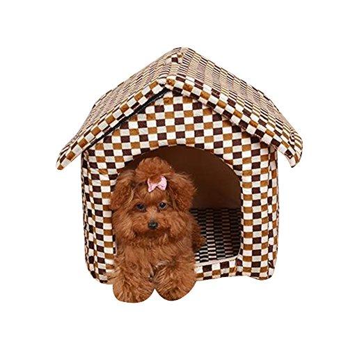 Caseta de Perro Simple Nido de Gato Extraíble Transportable Lavable Encantador y...