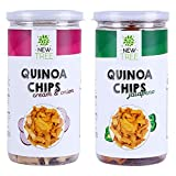 Quinoa Chips Jalapeno & Quinoa Chips Cream & Onion Combo of 2 [ Total Weight: 300gm]