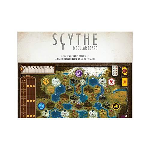 Stonemaier Games STM638 Scythe Planche modulaire Couleurs mélangées
