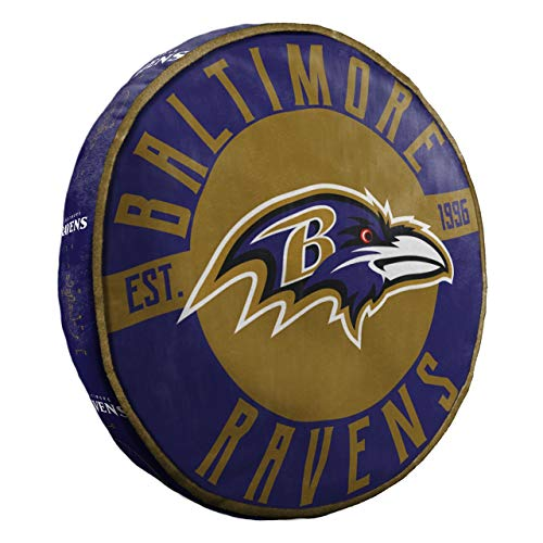 Northwest NFL Baltimore Ravens Cloud to Go StylePillow, Team Colors, One Size