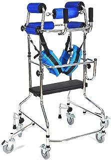 标准步行器折叠式高碳钢可调步行器、轻量轮复生辅助步行框架、高可调老年人步行辅助工具