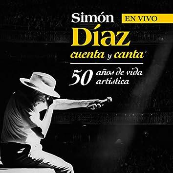 Simón Díaz Cuenta Y Canta 50 Años De Vida Artística (En Vivo)