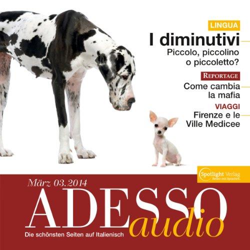 ADESSO Audio - I diminutivi. 3/2014 Titelbild