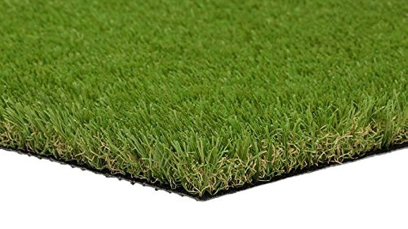 多年生設計下に向けます即納FIFA認定工場製造最高級人工芝 国際検査機関SGS基準防炎性試験合格品 1X5m 丈高3㎝ ロール状