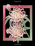 BLACK NOTEBOOK: Chrysanthemum Flower Witch Haze Shade Pastel Wide Ruled Lined Notebooks 110 Black...