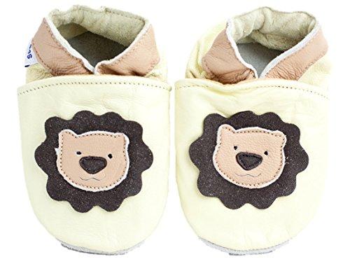Shoozies , {Chaussures premiers pas pour bébé (garçon) beige marron 0-6 mois