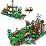 aolongwl Bloques de construcción Mine Mountain Organ Building Blocks Sets Diseñador City Skeleton Attack My World Craft The Skull Arena Ladrillos Juguetes para Niños