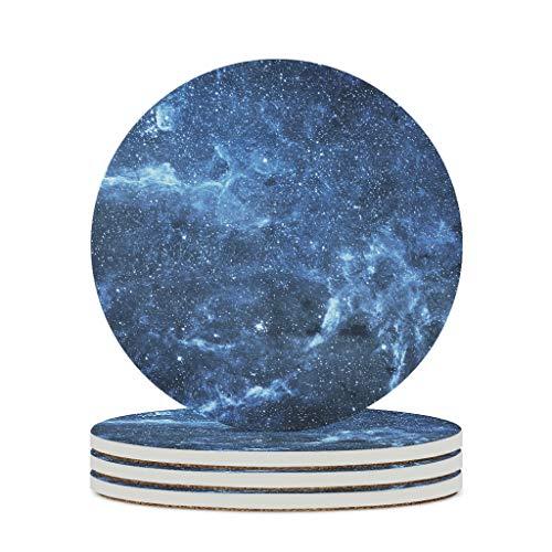 Tentenentent Posavasos de cerámica de primera calidad personalizados, 4 unidades