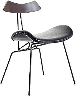 Sillas de comedor Sillas PU Accent con las piernas chapado metálico de oro for la sala Comedor Cocina Patio Vanidad for silla de comedor Sillas de comedor tapizadas ( Color : A2 , Size : 51X43X73CM )