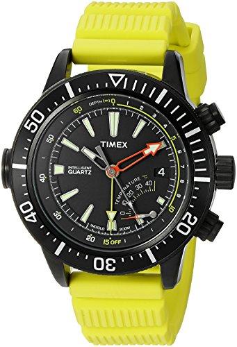 Timex Herren-Armbanduhr Analog Quarz Resin T2N958