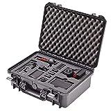 Maleta de Transporte Profesional para la cámara Blackmagic 4K Pocket Cinema y Sus Accesorios; Caja Impermeable para Exteriores IP67