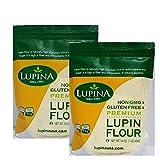 Lupina Harina de Lupin (2 Pack (1 libras))
