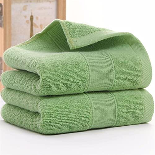 IAMZHL Toalla de Mano de algodón de absorción Fuerte de 2 Piezas, Toalla de baño para Adultos, Hombres, Mujeres, niños, Toallas de baño para la Cara, 24 Colores-a5-34X75CM