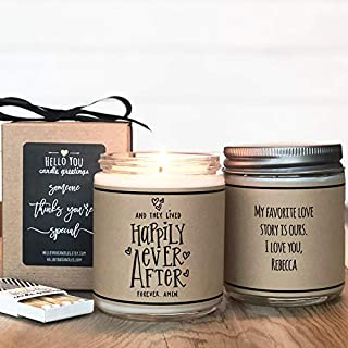 Happily Ever After - Candle Wedding Gift
