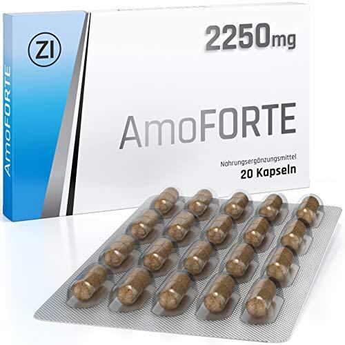 Amoforte - Schnelle Effekte - Für volle männliche Performance - Ausdauer und Kraft