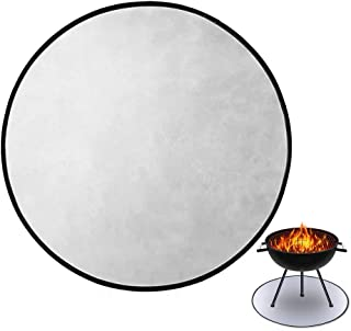 """Fire Pit Mat 36"""" Round Fire Pit High Temp Mat Under Grill Mat Fireproof Pad Deck Protector with Fire Retardant Material fo..."""