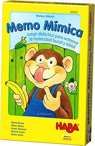 Haba- Juego de mesa, Memo Mímica, Multicolor (Habermass H304243)