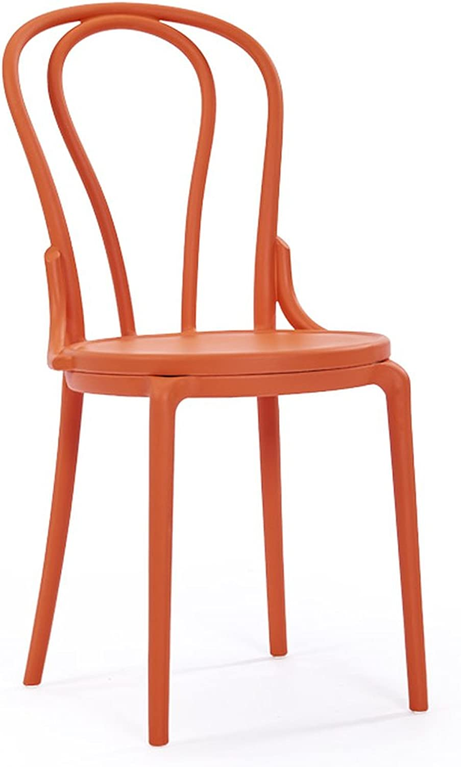 HZB Modern Leisure, Simple Back Chair, Plastic Chair, Creative Dining Chair, Home Fashion Cafe