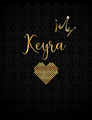 Keyra: Personalized Lined Journal with Inspirational Quotes