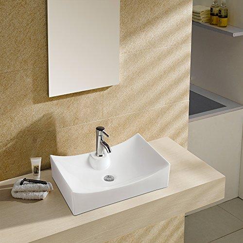 Waschbecken - Waschtisch   Aufsatzwaschbecken · Handwaschbecken · Keramik Waschbecken   Burgtal 17546