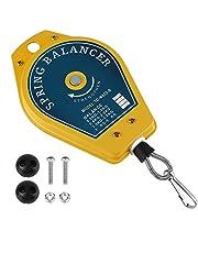 Balanceador de resorte retráctil,Balanceador de resorte para colgar,De hierro + plástico,Color amarillo,Para fabricación de automóviles, fábricas,0.5-1.5kg