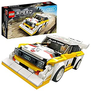 LEGO Speed Champions 1985 Audi Sport Quattro S1 76897 Toy Cars for Kids Building Kit Featuring Driver Minifigure, New… - 51KCE8cQNFL - LEGO Speed Champions 1985 Audi Sport Quattro S1 76897 Toy Cars for Kids Building Kit Featuring Driver Minifigure, New…