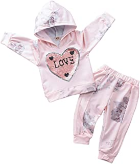 Baby Girl Clothes Little Miss Sassy Pants Long Sleeve Hoodie Sweatshirt Floral Pants Outfit Sets