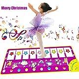 HBIAO Tanzmatte Kinder, Baby Aktivität Gym Spielmatten Baby Früherziehung Musik Singen Klaviertastatur Decke Touch Spielen -