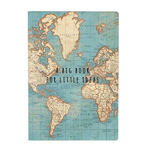 Vintage Map Of World.Vintage World Map Amazon Co Uk