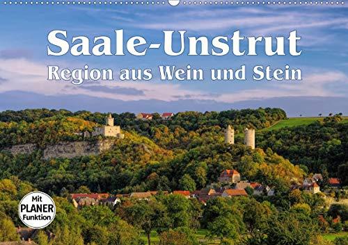Saale-Unstrut - Region aus Wein und Stein (Wandkalender 2021 DIN A2 quer)