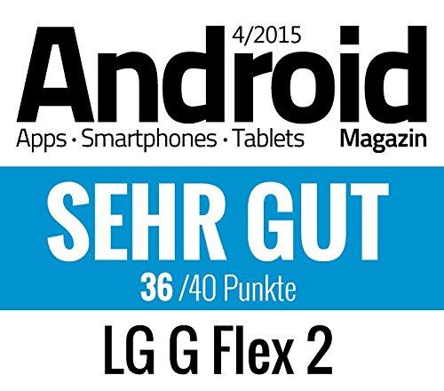 LG G Flex 2 5.5 inch Full HD POLED Screen Qualcomm Snapdragon 810 2Ghz Octa Core Processor 13 MP Camera 16GB Internal Memory Android 5.0 Platinum Silver