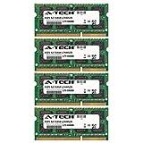 A-Tech 32GB KIT (4 x 8GB) For Apple iMac Series 2.8GHz Intel Quad-Core i7 - (21.5-Inch) (DDR3 - Mid 2011) 2.8GHz Intel Quad-Core i7 - (27-Inch) (DDR3. SO-DIMM DDR3 NON-ECC PC3-10600 1333MHz RAM Memory