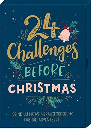Karten-Box - 24 Challenges before Christmas: Ultimative Herausforderungen für die Adventszeit