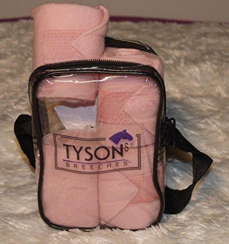 Bandagen Mini Shetty Minishetty Fleece 1 Meter Rosa Hellblau Schwarz Weiss Tysons Minipony Line (Rosa)
