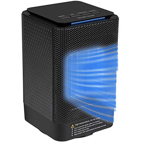 SHHYD Portátil Ventilador Calentador, Personal Espacio Calefactor 950W / 450W Calentador eléctrico,...