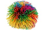 Bandy Ball Rubber String Spike Ball (1 Unit Assorted) JA-RU Fidget Stress Ball Toy Elastic Fidget Toy Balls Pull Stretch Soft Squishy Sensory Toy Therapy for Kids & Adult Toys. Plus 1 Ball. 1070-1p