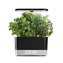 INCLUDES GOURMET HERB SEED KIT (6 POD) - Genovese Basil, Curly Parsley, Dill, Thyme, Thai Basil and Mint & a 3oz bottle of our patented, all natural plant nutrients (enough for a full season of growth) PLANT TO PLATE - Up to 6 plants grow at a time, ...